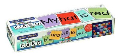 Sight Words Pocket Chart Cards  -
