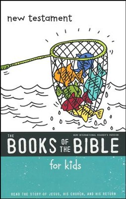 NIrV The Books of the Bible for Kids: New Testament, Softcover  -