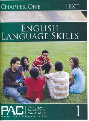 PAC English 1: Language Skills Student Text, Chapter 1   -