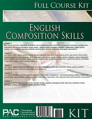 English 2: Composition Skills--Full Course Kit   -