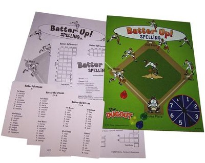 Batter Up Spelling Grades 1-6   -