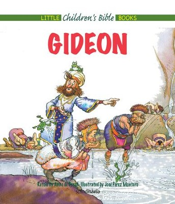 Gideon - eBook  -     By: Anne de Graaf     Illustrated By: Jose Perez Montero