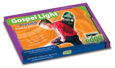 Gospel Light: Preteen Grades 5 & 6 Classroom Kit, Summer 2018 Year A  -