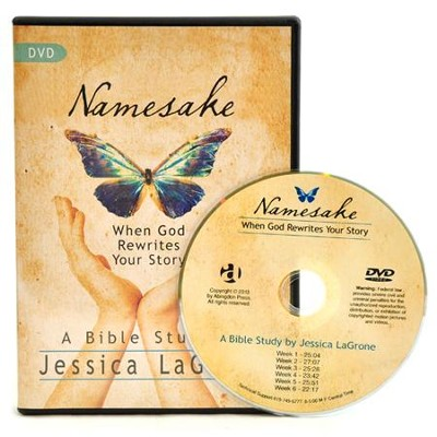 Namesake: When God Rewrites Your Story - DVD  -     By: Jessica Lagrone
