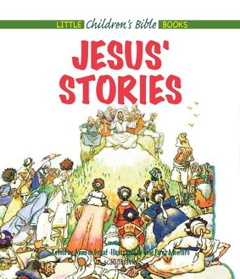 Jesus' Stories - eBook  -     By: Anne de Graaf     Illustrated By: Jose Perez Montero