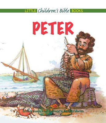 Peter - eBook  -     By: Anne de Graaf     Illustrated By: Jose Perez Montero