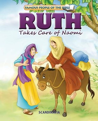 Ruth Takes Care of Naomi - eBook  -     By: Joy Melissa Jensen     Illustrated By: Lu Simi