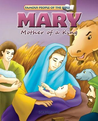 Mary Mother of a King - eBook  -     By: Joy Melissa Jensen     Illustrated By: Lu Simi