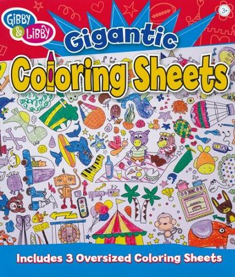 Ready Set Color Gigantic Coloring Sheets   -