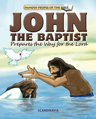 John The Baptist Prepares the Way for the Lord - eBook  -     By: Joy Melissa Jensen     Illustrated By: Lu Simi