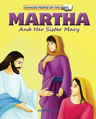 Martha and Her Sister Mary - eBook  -     By: Joy Melissa Jensen     Illustrated By: Lu Simi