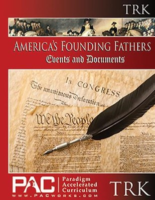 America's Founding Fathers Events & Documents Teachers Guide Resource Kit  -