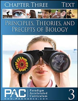 Principles, Theories & Precepts of Biology, Chapter 3 Text  -