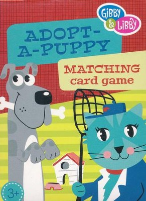 Adopt-A-Puppy Matching Card Game   -