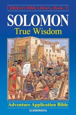 Solomon - True Wisdom - eBook  -     By: Anne de Graaf     Illustrated By: Jose Perez Montero