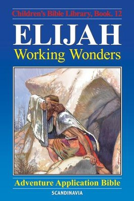 Elijah - Working Wonders - eBook  -     By: Anne de Graaf     Illustrated By: Jose Perez Montero