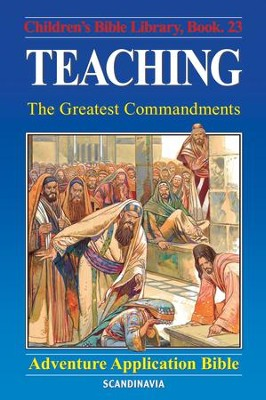 Teaching - The Greatest Commandments - eBook  -     By: Anne de Graaf     Illustrated By: Jose Perez Montero