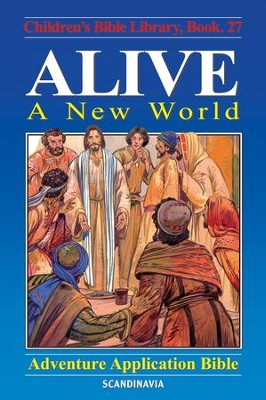 Alive - A New World - eBook  -     By: Anne de Graaf     Illustrated By: Jose Perez Montero