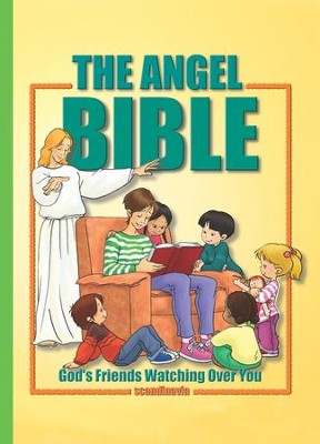 Angel Stories in the Bible - eBook  -     By: Cecilie Olesen     Illustrated By: Gustavo Mazali