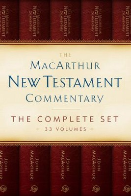The MacArthur New Testament Commentary Set of 33 volumes - eBook  -     By: John MacArthur
