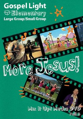 Gospel Light: Elementary Grades 1-4 Large Group Mix it Up! DVD, Fall 2018 Year B  -