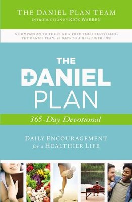 The Daniel Plan 365 Devotional: 365 Days to a Healthier Life - eBook  -     By: Rick Warren D.Min., Daniel Amen M.D., Mark Hyman M.D.