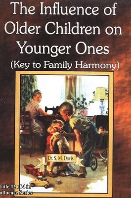 The Influence of Older Children on Younger Ones DVD   -     By: Dr. S.M. Davis