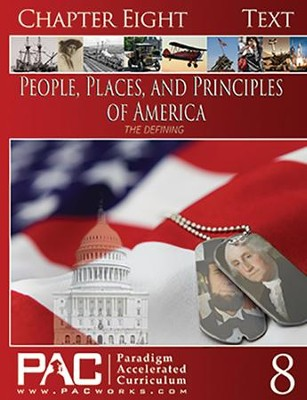 The People, Places and Principles of America;    -