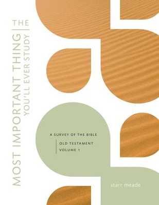 The Most Important Thing You'll Ever Study: A Survey of the Bible - eBook  -     By: Starr Meade