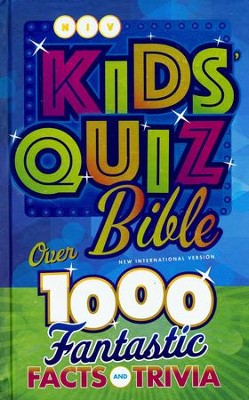 NIV Kids' Quiz Bible, Hardcover  -