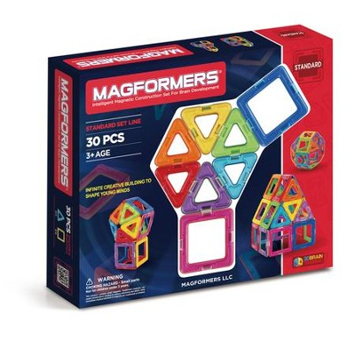 Magformers Rainbow 30 Piece Set   -