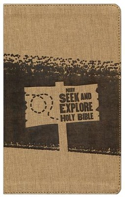 NIrV Seek and Explore Holy Bible--soft leather-look, chocolate  -