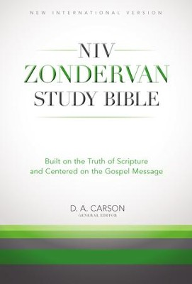 NIV Zondervan Study Bible: Built on the Truth of Scripture and Centered on the Gospel Message - eBook  -     Edited By: D.A. Carson