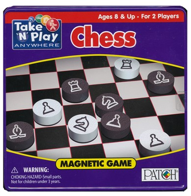 Chess Game Tin   -