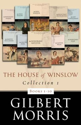 The House of Winslow Collection 1: Books 1-10 - eBook  -     By: Gilbert Morris