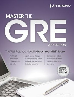 Master the GRE, 23rd edition - eBook  -     By: Margaret Moran