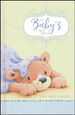 KJV Baby's First Bible Blue, Hardcover  -
