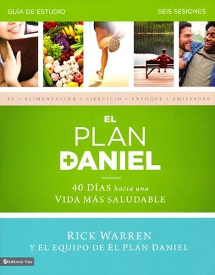 El Plan Daniel Guia de Estudio, The Daniel Plan Study Guide  -     By: Rick Warren