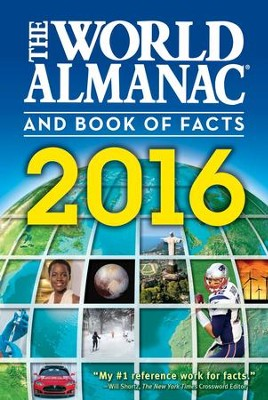 The World Almanac and Book of Facts 2016 - eBook  -     Edited By: Sarah Janssen