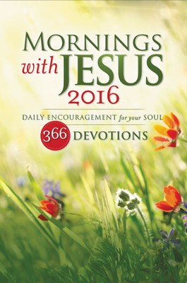 Mornings with Jesus 2016 - eBook  -     By: Zondervan