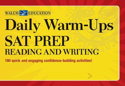 Daily Warm-Ups: SAT Prep-Reading and Writing with CD-Rom  -
