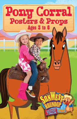 SonWest Roundup: Pony Corral Posters & Props  -