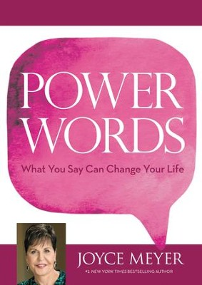 Power Words: What You Say Can Change Your Life - eBook  -     By: Joyce Meyer