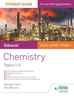 Edexcel Chemistry Student Guide 1: Core inorganic and physical chemistry / Digital original - eBook  -     By: George Facer, Rod Beavon