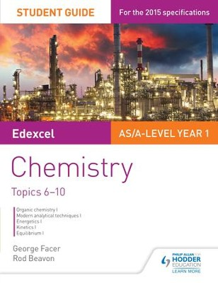 Edexcel Chemistry Student Guide 2: Core organic and physical chemistry / Digital original - eBook  -     By: George Facer, Rod Beavon