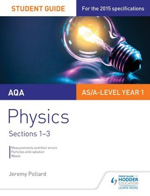 AQA Physics Student Guide 1: Sections 1-3 / Digital original - eBook  -     By: Jeremy Pollard