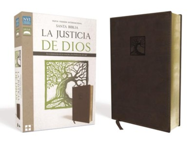Santa Biblia NVI La Justicia de Dios, NVI God's Justice: The Holy Bible--soft leather-look  -     By: Zondervan