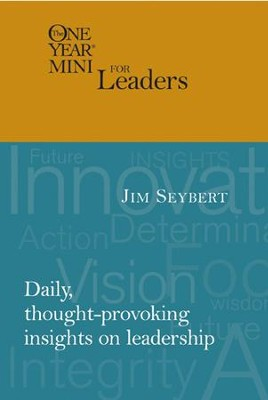 The One Year Mini for Leaders - eBook  -     By: Jim Seybert