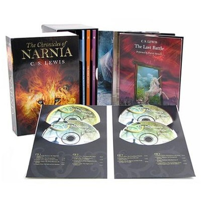 Chronicles of Narnia Book & Audio Box Set  -     By: C.S. Lewis