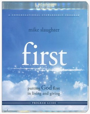 First: Putting God First in Living and Giving--Program Guide with Flash Drive  -     By: Mike Slaughter